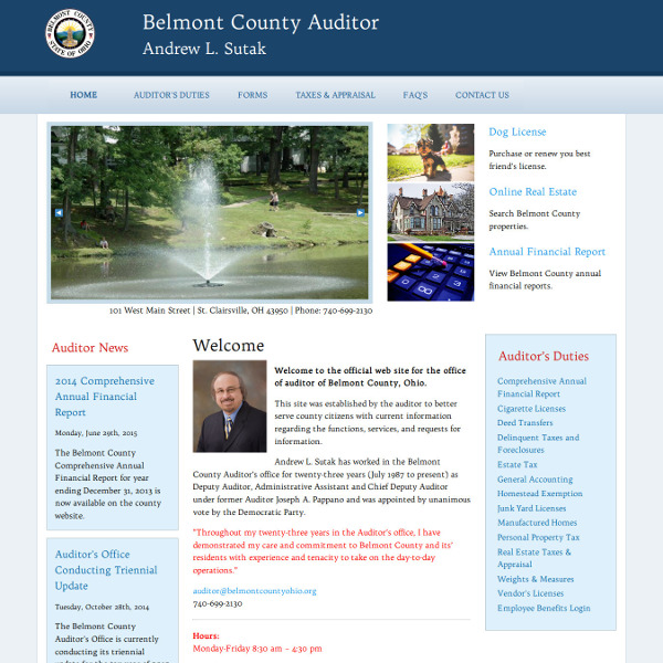 Belmont County Auditor