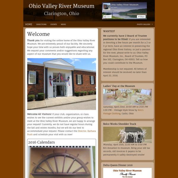 Ohio Valley River Museum