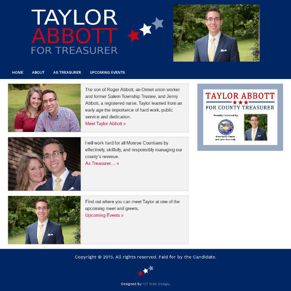 Taylor Abbott for Treasurer