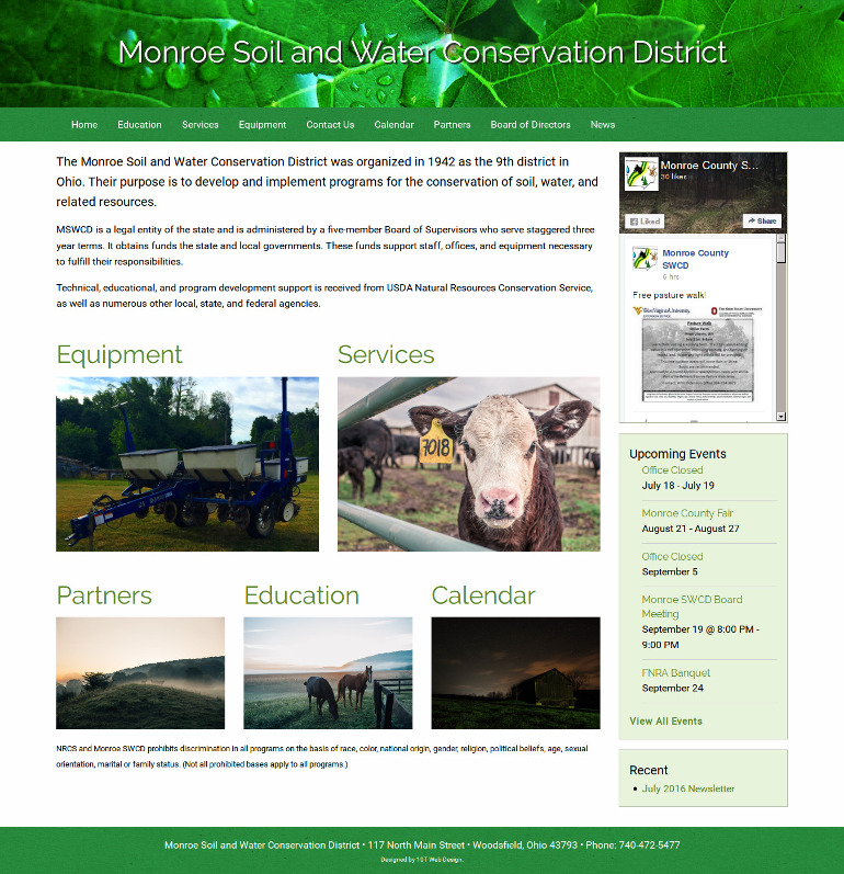 Monroe Soil and Water Conservation District