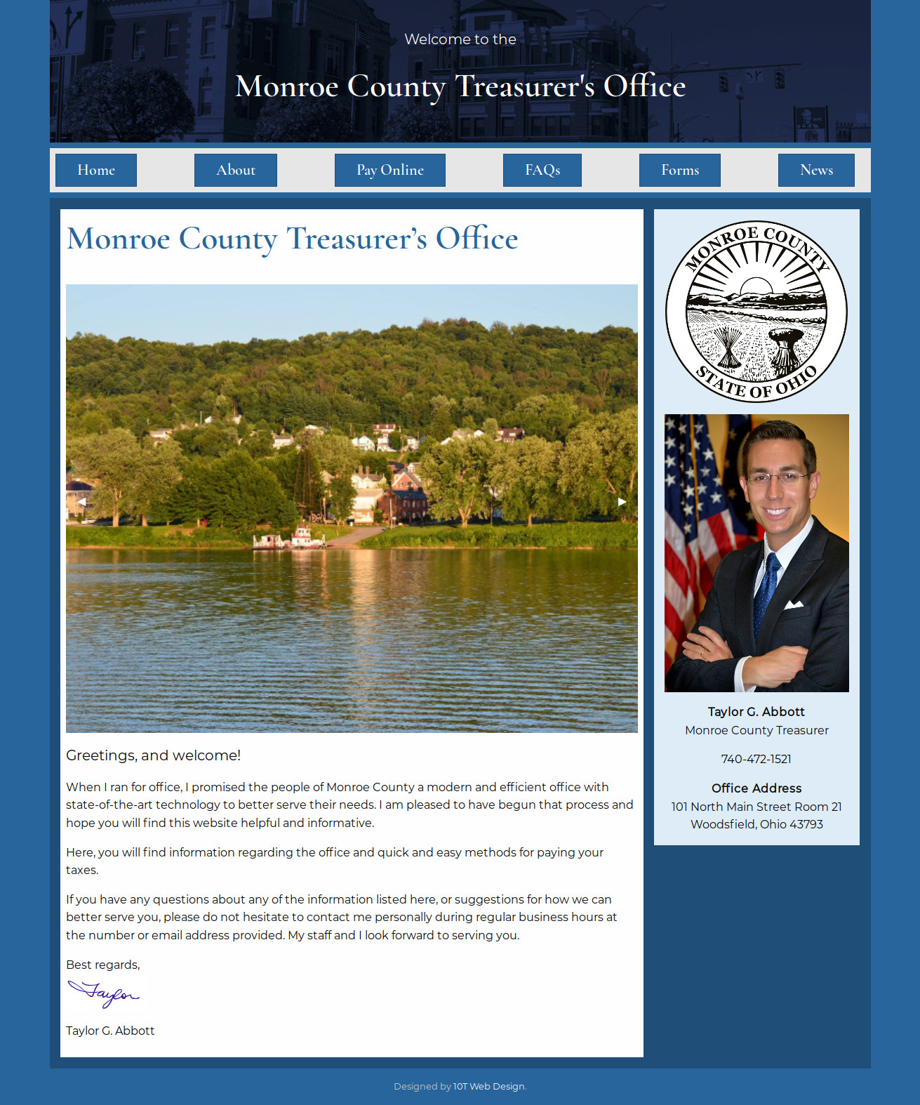 Monroe County Treasurer