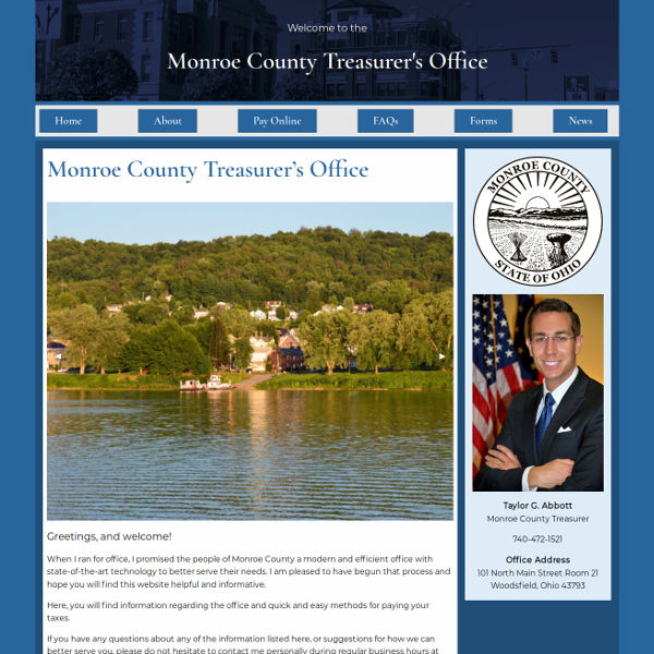Monroe County Treasurer's Office