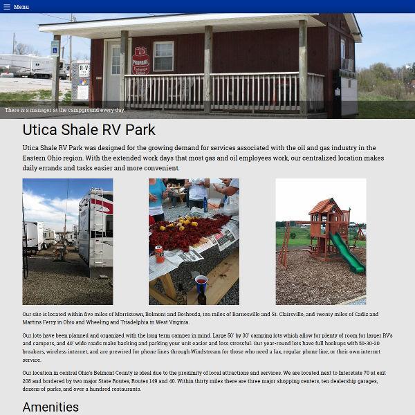 Utica Shale RV Park